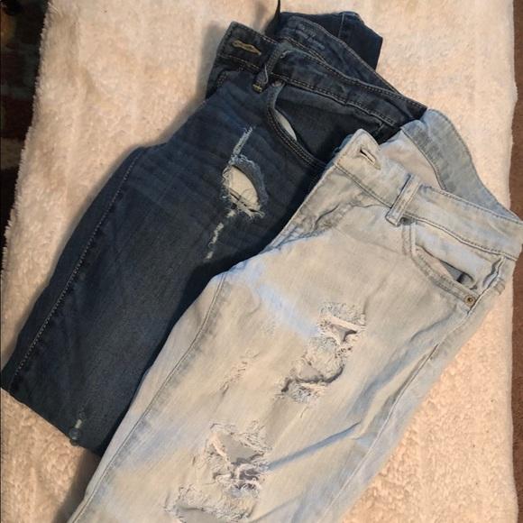 Mossimo Supply Co. Denim - 2 Pair Mossimo Skinny Jeans